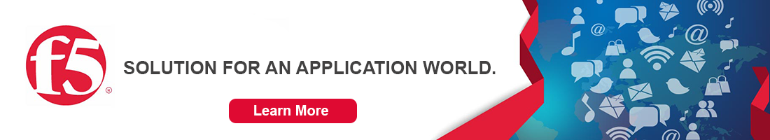 F5 Solution for an application world